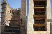 Finalizamos el proyecto de Restauración del Tramo de Muralla entre el Acueducto de los Arcos y la Torre de la Bombardera de la Ciudad de Teruel