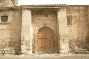 Restauración de la fachada de la iglesia de Sta. María de la Sey en Valeria (Cuenca)