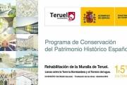 Carpetania Integra adjudicataria de la REHABILITACIÓN DE LA MURALLA DE TERUEL. TRAMO TORRE BOMBARDERA-TORREÓN DEL AGUA. FASE II